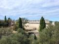 Jardin sauvage et remparts