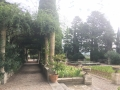 Pergola du jardin italien
