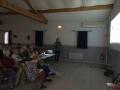 Conférence dans la salle polyvalente