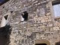 Encadremenr de fenêtre en quart de rond : château vieux