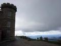 La tour de l'observatoire météo de l'Aigoual