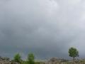 Les nuages menacent (Nîmes-le-vieux)