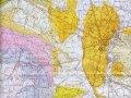 Carte géologique de l'Uzège