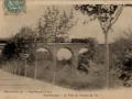 """Viaduc des """"6 ponts"""" : ancienne voie de chemin de fer (XIXe s.) : carte postale ancienne 1900"""