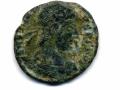 Pièce de monnaie romaine (avers)