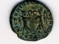 Pièce de monnaie romaine (revers)