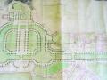 Plan du Jardin de la Fontaine de J P Mareschal