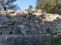 Vestige de la rampe d'accès à la Tour Magne