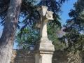 Croix au dessus de la chapelle des 3 fontaines