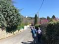 En chemin vers la Tour Magne