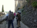 Rampe d'accès au château