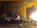 Intérieur d'hôpital au XVIIe s.