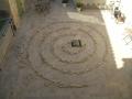 Spirale de pierres sèches