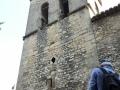 Tour carrée de la cathédrale-haute Vaison