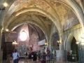 Superbes voûtes de la cathédrale-haute