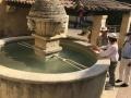 Fontaine aux mascarons Sablet