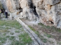 Canal d'irrigation de la citerne