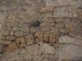 Pierres calcaires et trouées
