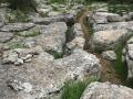 Sentier entre les rochers au Ranc de Figère