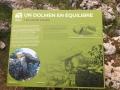 Panneau du dolmen en équilibre