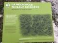 Panneau pédagogique du Ranc de Figère