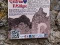 Panneau d'information la tour