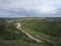 Les Gorges du Gardon depuis l'oppidum