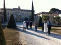 L'allée principale du château