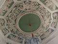 Plafond du salon octogonal