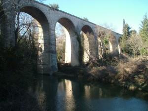 En chemin de fer - Viaduc des Seynes