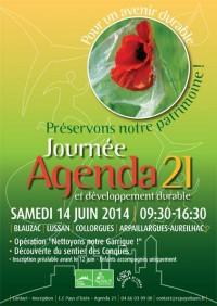 Journée Agenda 21 le 14 juin 2014