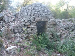 Cabane de Coste Joulène avant restauration