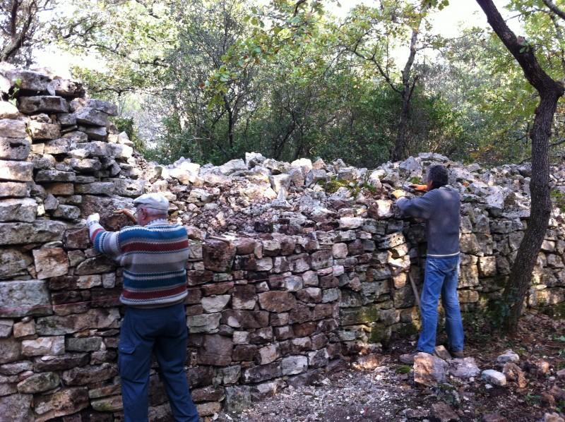 Restauration de la cabane de Coste Joulène