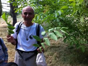 Yves Maccagno, botaniste et ami des oiseaux