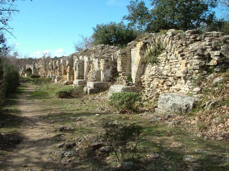 Dimanche 11 octobre 2015 – En parcourant l'aqueduc romain