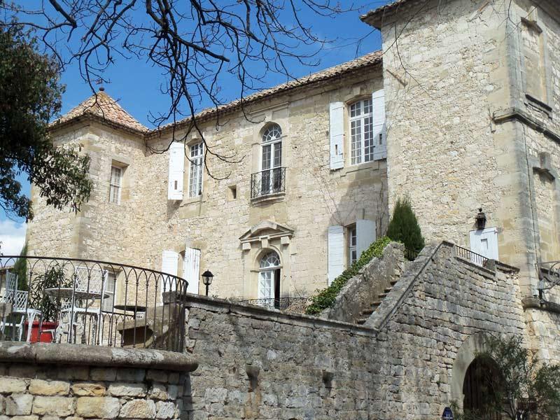 Visite du Château d'Arpaillargues