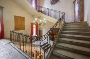 Escalier Louis XV - Château d'Arpaillargues