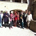 La Zébrine en visite au Mas de Rey
