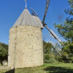 Moulin à vent de Vénéjan Gard