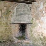 Capitelle du Laï : cheminée