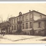 L'hôtel de ville de Blauzac (CPA)
