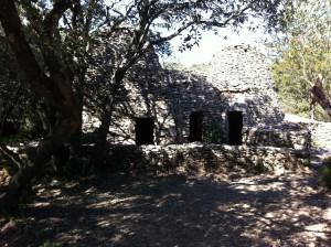 """Les 3 capitelles appelées """"Le Château"""""""