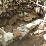 Affleurement du socle calcaire