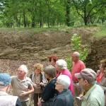 visite de l'insectodrome avec Albert Mahé