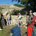 Présentation de l'historique de l'oppidum