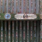 Plafond peint du cabinet du château