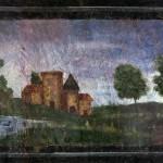 Panonceau peint du cabinet du château