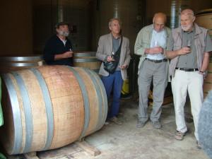 Visite de la cave viticole de Rémy Curtil