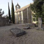 L'ancien cimetière de la chapelle