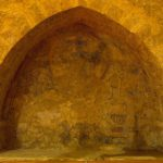 Décor peint dans une niche